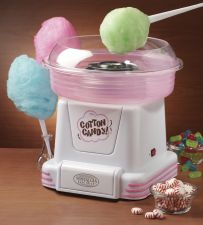 Buy NEW Nostalgia Electrics Cotton Candy Maker Hard & Sugar Free Machine Pink