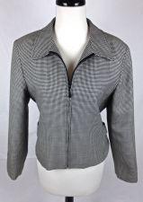 Buy Pendleton Jacket M Womens Black Wool Long Sleeve