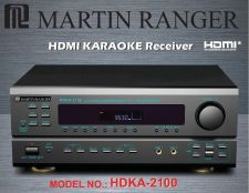 Buy Martin Ranger 5.1 Channel 420W Built-in AM/FM HDMI Karaoke Reciever -Mixer