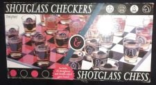 Buy iPartyHard Shotglass Chess and Checkers