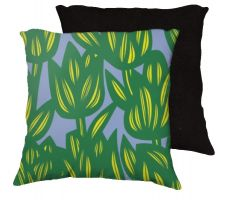 Buy Guilfoos 18x18 Green Yellow Blue Pillow Flowers Floral Botanical Cover Cushion Case T