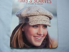 Buy Hats and Scarves- 12 Designs to Crochet Pattern Book