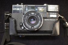 Buy Minolta Hi Matic AF 2 Auto Focus 35mm Rangefinder Film Camera w/ Original Case