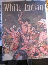 Buy White Indian by Frazetta B&W mag size reprints VF+ range 1950's comics GREAT