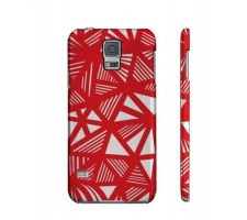 Buy Stockley Red White Samsung Galaxy S5 Phone Case