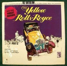 Buy The YELLOW ROLLS-ROYCE ~ 1965 Movie Soundtrack LP Unopened Near Mint