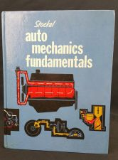 Buy Stockel Auto Mechanics Fundamentals Learn How to Design Build Engine Book 1974