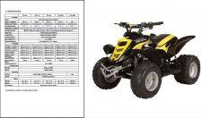 Buy E-TON Viper 50 70 90 ATV ( RXL50 RXL90 RXL70 RXL50M ) Service Manual CD - Eton