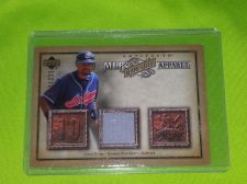 Buy MLB COCO CRISP INDIANS 2006 UD ARTIFACTS GAME WORN JERSEY /325 MNT