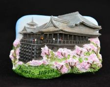 Buy 3D SCULPTURE FRIDGE MAGNET MEMORIAL KIYOMIZU TEMPLE KYOTO JAPAN COLLECTIBLE GIFT