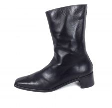 Buy Stuart Weitzman Shoes 10 Womens Black Leather Boots