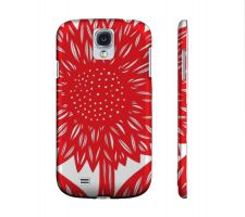 Buy Andrew Red White Samsung Galaxy S4 Phone Case Flowers Botanical