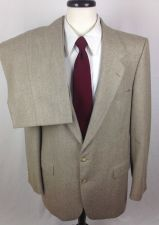 Buy VTG Yves Saint Laurent YSL Suit Mens 42 L Beige Wool Blazer Pants