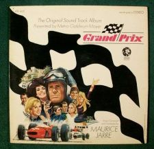 Buy GRAND PRIX ~ 1966 Original Soundtrack LP James Garner