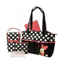 Buy Diaper Bag New 5in1 Minnie Mouse Disney Infant Changer Bottle Carrier New