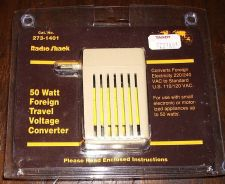 Buy 50 WATT FOREIGN TRAVEL VOLTAGE CONVERTER Isaac Hayes Estate