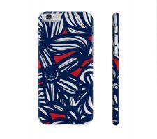 Buy Camack Red Blue Iphone 6 Apple Phone Case Flowers Botanical
