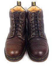 Buy Dr Martens Shoes Womens 9 Brown Leather Boots