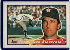 Buy VINTAGE NOLAN RYAN HOUSTON ASTROS PITCHER 1988 TOPPS BIG #29 GD-VG