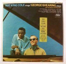 Buy NAT KING COLE Sings / GEORGE SHEARING Plays ~ 1963 Jazz / Pop LP + Bonus LP