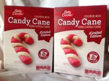 Buy BETTY CROCKER LIMITED EDITION CANDY CANE COOKIE MIX Lot of 2 Boxes