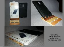 Buy Samsung Galaxy Note 4 Slim Hybrid Titan Black Case Premium Tempered Glass