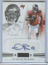 Buy NFL 2012 Panini Playbook Da'Quan Bowers AUTO /299 Mnt