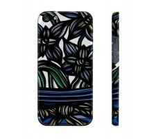 Buy Kuczma Blue Green Flowers Floral Botanical Iphone 5/5S Phone Case