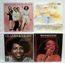 Buy GLADYS KNIGHT & THE PIPS ~ Lot of ( 4 ) R&B / Soul / Dance LPs