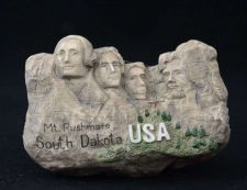 Buy 3D SCULPTURE FRIDGE MAGNET MEMORIAL OF SOUTH DAKOTA USA COLLECTIBLE GIFT