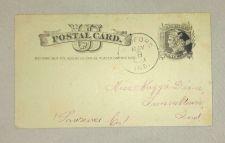 Buy Antique Pioneer Era Postal Card F/VF