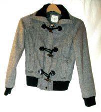 Buy EUC women's, sz.M/P, heritage 1981, b/w, long sleeve,zipper/button down, jacket