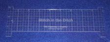 """Buy 9"""" Stitch in the Ditch Ruler. Acrylic 1/8"""" thick. Quilting/Sewing"""