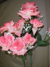 Buy Pink Silk Roses