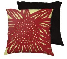 Buy Poyner 18x18 Yellow Red Pillow Flowers Floral Botanical Cover Cushion Case Throw Pill