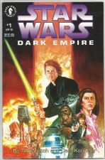 Buy Star Wars Dark Empire #1 Dark Horse Comics Veitch / Kennedy 1991 -1st print NICE