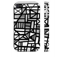 Buy Ruesga Black White Iphone 4/4S Phone Case