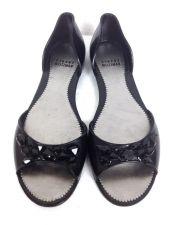 Buy Stuart Weitzman 7.5 Womens Black Plastic Ballet Flats
