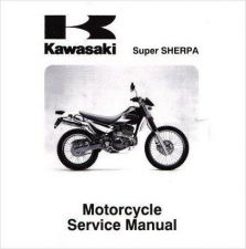 Buy 97-10 Kawasaki KL250G KL250H Super Sherpa Service Repair Manual CD .. KL 250 G H