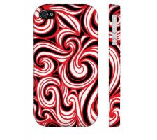 Buy Paschke Red White Black Iphone 4/4S Phone Case