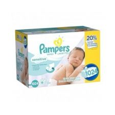 Buy Pampers Baby Wipes, Sensitive, Sofecare 1024 Count