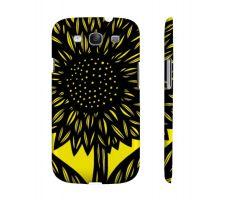 Buy Ocus Yellow Black Samsung Galaxy S3 Phone Case Flowers Botanical