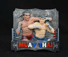 Buy 3D SCULPTURE FRIDGE MAGNET MEMORIAL MUAY THAI BOXING SOUVENIR COLLECTIBLE GIFT