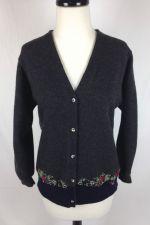 Buy Banana Republic Sweater Womens S Gray Merino Wool