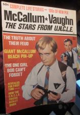 Buy McCallum * Vaughn The Stars From U.N.C.L.E. 1965 Ideal 100's of Pix 52 pages