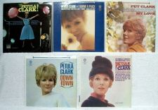 Buy PETULA CLARK ~ Lot of ( 5 ) 60'S Pop LPs