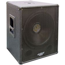 Buy PylePro PASW15 800 Watt 15'' Stage PA Subwoofer Cabinet w/ Center Pole Mount