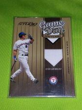 Buy MLB HANK BLAYLOCK RANGERS 2004 DONRUSS GAME WORN JERSEY NMNT