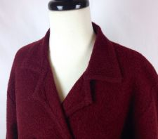 Buy Pendleton Sweater Womens L Red Wool Long Sleeve