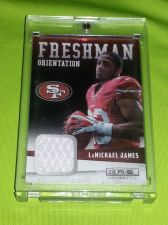Buy NFL LaMICHEAL JAMES 49ers 2012 ROOKIE GAME WORN JERSEY MNT